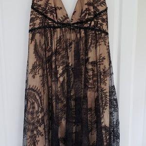 Dress ABS Allen Schwartz collection size 4 Black